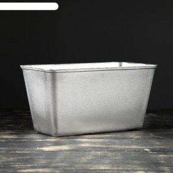 Форма для выпечки хлеба кирпич, алюминиевая, 21,5x11,5x11 см