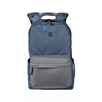 Рюкзак wenger 14'', синий/серый, полиэстер, 28 x 22 x 41 см, 18