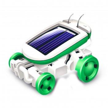Игровой набор «солнцебот», 6 в 1, работает от солнечной батареи, в пакете