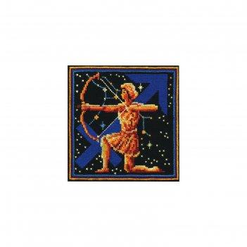 Набор для вышивания знаки зодиака стрелец