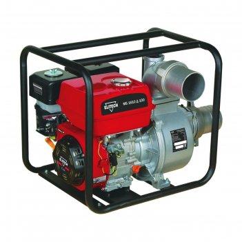 Мотопомпа elitech мб1610 д 100, бензиновая, для чистой воды, 1600 л/мин, н