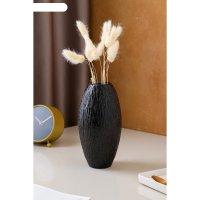 Ваза малая евро дерево, чёрная