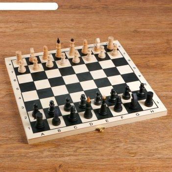 Шахматы классика доска дерево, 29х29х4 см
