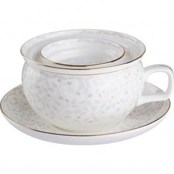 Чайный набор на 1 персону 2 пр.450 мл.