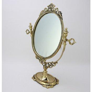 Зеркало настольное будуар (bp-21005-d)