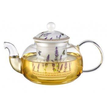 Чайник заварочный с керамическим фильтром 700 мл. ...