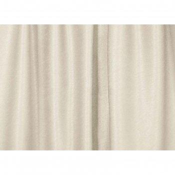 Ткань портьерная в рулоне, ширина 280 см, однотонная, софт 56244