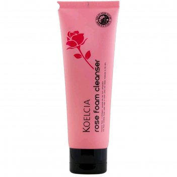 Пенка для лица koelcia, успокаивающая очищающая, с экстрактом розы, 120 г