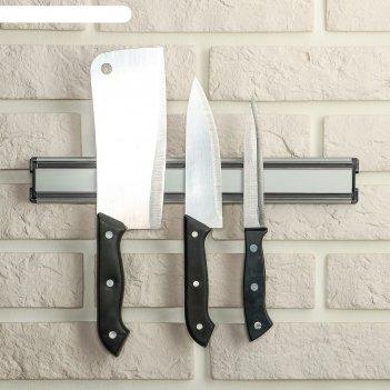 Держатель для ножей магнитный 31 см стайл