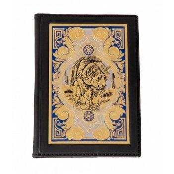 Обложка для паспорта медведь