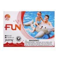 Дельфин всадник для плавания надувной 152 х 90 см, от 3 лет