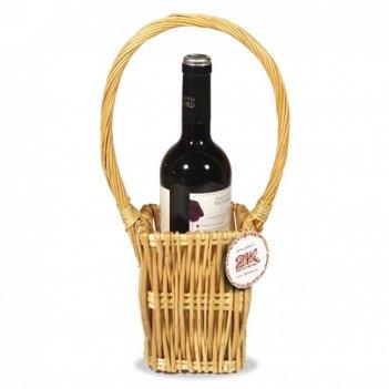 Корзина плетеная для вина