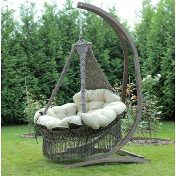 Каркас для подвесных кресел качелей lite сorsa деревянный, садовая мебель