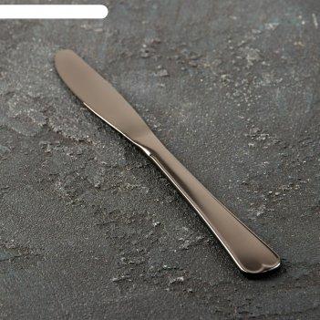 Нож столовый «мондиал» (м9), цвет графит