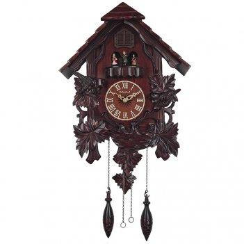 Настенные часы с кукушкой columbus cq-039 куклы