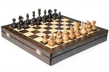 Шахматы woodgame ларец из венге, фигуры из дуба, 44х44см