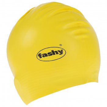 Шапочка для плавания fashy flexi-latex cap, арт.3030-00-45, латекс, цвет ж