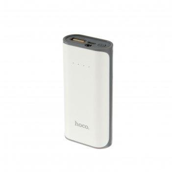 Внешний аккумулятор hoco b21 xiao nai, 5200 mah, белый