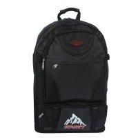 Рюкзак тур. скалы, 37*15*50см, трансформер, 1 отд, 3 н/ кармана, черный