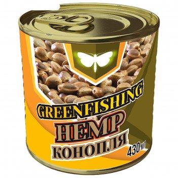 Семена greenfishing конопля вареная 100% 430 гр