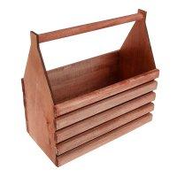 Ящик для инструментов и цветов(кашпо) 40*40*20см крашенный