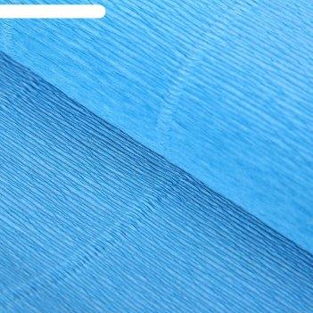 Бумага гофрированная, 556 небесная, 0,5 х 2,5 м