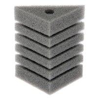 Губка треугольная запасная для фильтра турбо №24, 8х8х11х12 см
