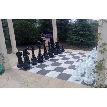 Пластиковые садовые шахматы 100см