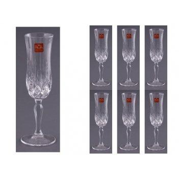 Набор бокалов для шампанского из 6 шт.опера 130 мл. высота=20.5 см. (кор=1
