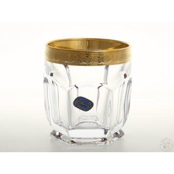 Набор стаканов для виски bohemia safari 250 мл(6 шт)