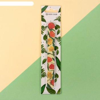 Пилка-наждак «tulip», на блистере, абразивность 200/240, 18 см