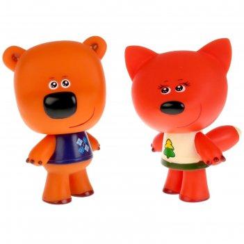 Игрушка для ванной «мимимишки. лисичка и кеша»