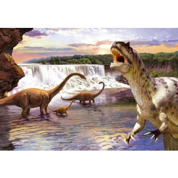 Пазлы 260 динозавры 2