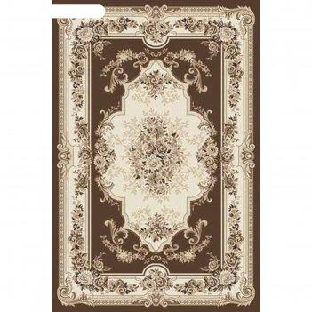 Прямоугольный ковёр valencia deluxe 4015, 250 х 400 см, цвет brown