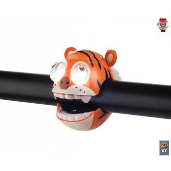320240 фонарик tiger light с брелком-фонариком
