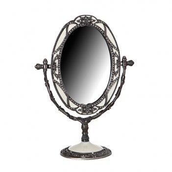 Зеркало настольное 24х18см.guangzhou