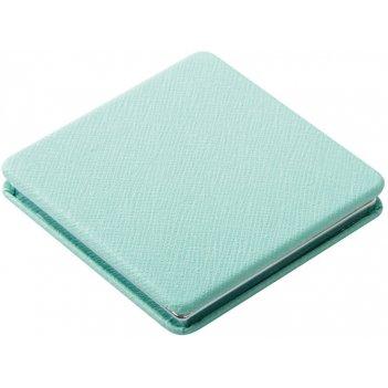 Зеркало mr 3 компактное палитра квадратное, голубое 6х6 см