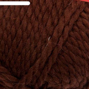 Пряжа мелодия 50% шерсть, 50% акрил 100м/100гр (0412, шоколадный)