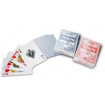 Карты для игры в покер игральные полупластик