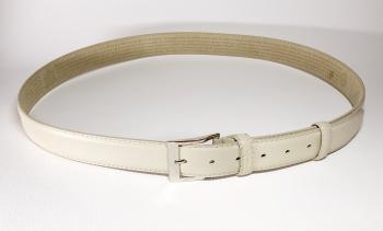 00116 пояс ремень мужской кожаный, трехслойный, прошитый. ширина 35 мм (ар