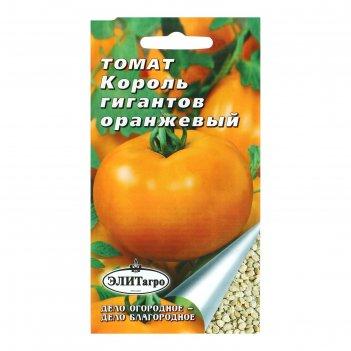 Семена томат король гигантов среднеспелый, оранжевый, 0,1 гр