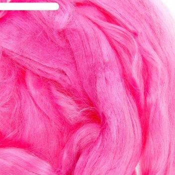 Шерсть для валяния (0223, светло-розовый), 50 гр