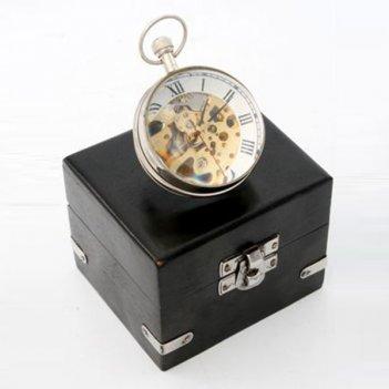 Композиция время в подарочной коробке, l9,5 w8,5 h8 см
