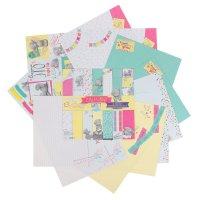 Набор бумаги для скрапбукинга  me to you счастливый билет12 лис 30.5 x 30.