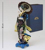 Jp-24/ 8 фигурка девушка с зонтом (pavone)