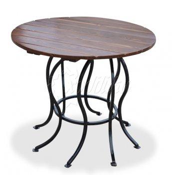 Стол круглый садовый «восемь ног» 1 м