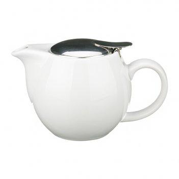 Заварочный чайник с металлической крышкой 400 мл. ...