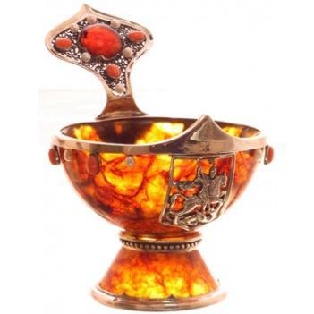 (8) чаша из янтаря державная