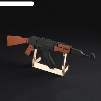 Резинкострел ак-47, окрашенный, автоматический