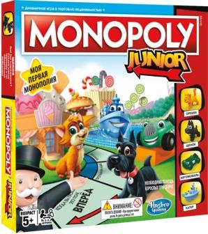Настольная игра hasbro gaming a6984e76 монополия джуниор